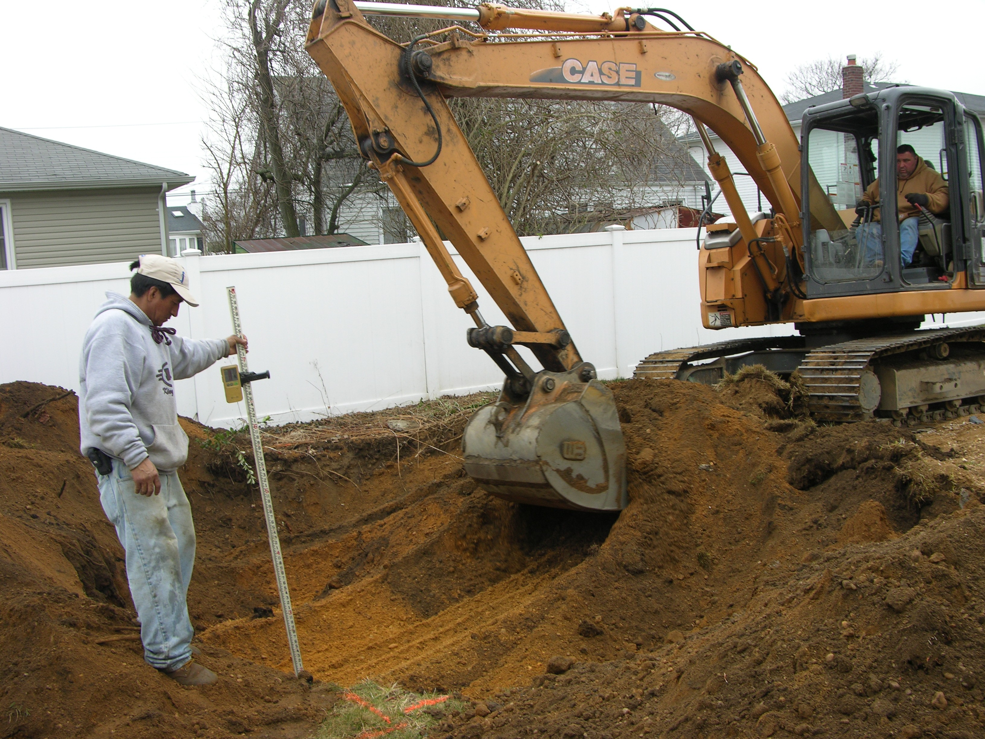 Excavation Long Island Pool Construction