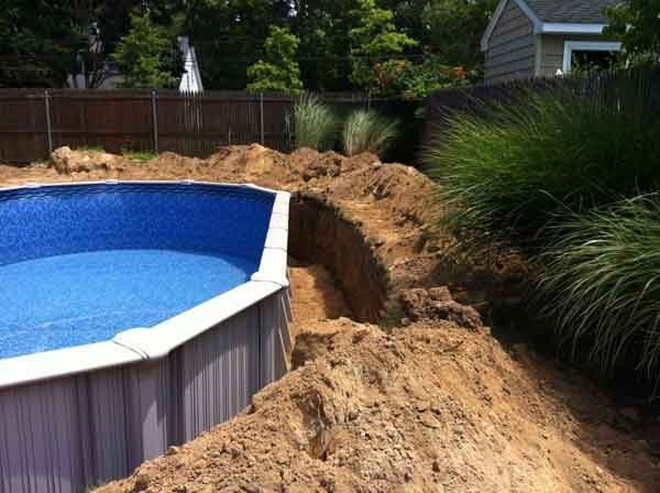 Consultation long island pool construction for Underground pool installation